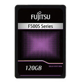Fujitsu 120GB極速Intel 3D NAND閃存晶片固態硬碟F500S【愛買】