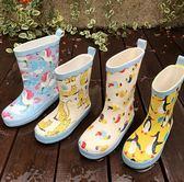 618大促 韓國ins爆款兒童雨鞋雨靴防滑小學生水鞋套膠鞋幼兒園寶寶男女童 百搭潮品
