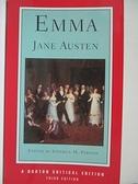 【書寶二手書T1/原文小說_IE9】Emma : an authoritative text, backgrounds, reviews…