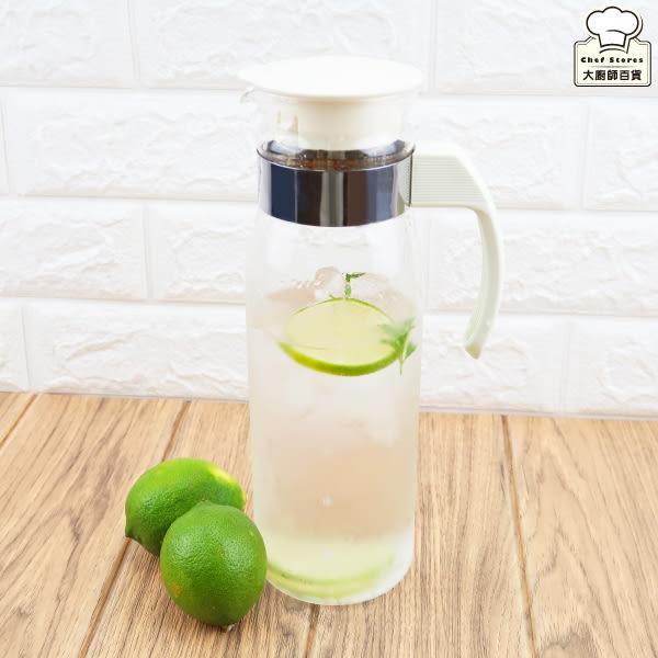 HARIO耐熱玻璃冷水壺1.4L日本製出水口設有防滴漏-大廚師百貨