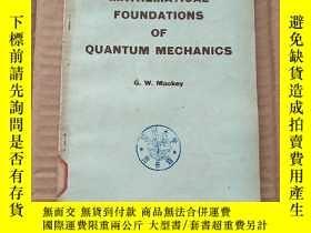 二手書博民逛書店mathematical罕見foundations of quantum mechanics(P560)Y17