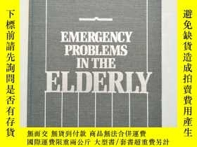 二手書博民逛書店EMERGENCY罕見PROBLEMS IN THE ELDER