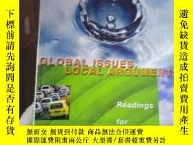二手書博民逛書店Global罕見Issues,Local Arguments R