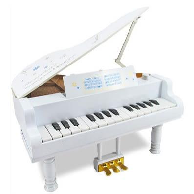 全館83折 迷你小鋼琴擺件嬰幼兒童樂器音樂玩具仿真鋼琴可彈奏音樂盒禮物