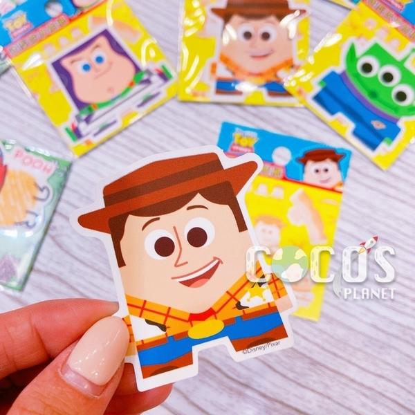 迪士尼 玩具總動員 Q版胡迪 造型防水小貼紙 壁貼 行李箱貼 筆電貼 機車貼 貼紙 COCOS TM031