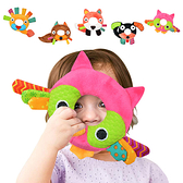 KOTY嬰兒玩具手搖鈴動物搖鈴寶寶0-1歲毛絨玩具-JoyBaby