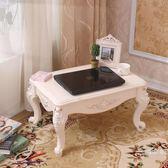 歐式飄窗桌炕桌榻榻米茶幾小桌子棋桌床上桌小矮桌地台窗台桌WY