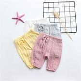 女寶寶防蚊褲0-1-2歲3女嬰兒燈籠褲夏季薄款