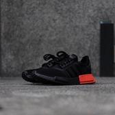 IMPACT Adidas NMD R1 Core Black Solar Red 黑 紅 輕量 男鞋 EE5107