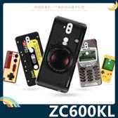ASUS ZenFone 5Q ZC600KL 復古偽裝保護套 軟殼 懷舊彩繪 計算機 鍵盤 錄音帶 矽膠套 手機套 手機殼