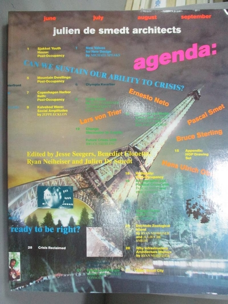 【書寶二手書T3/建築_EVG】Agenda: Can We Sustain Our Ability to Crisis