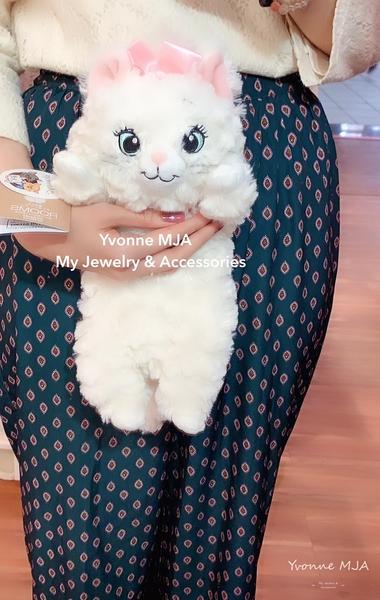 *Yvonne MJA* 日本限定正版 瑪麗貓 趴趴 捲毛 娃娃