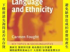 二手書博民逛書店Language罕見And EthnicityY256260 Carmen Fought Cambridge