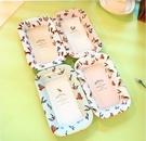 小清新可愛方形水果盤1 馬口鐵托盤 居家 野餐 露營適用!!(四入)