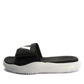 Adidas Alphabounce Slide [BA8775] 男鞋 運動 休閒 涼鞋 拖鞋 愛迪達 黑白