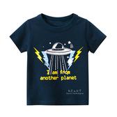 閃電飛碟短袖T恤上衣 童裝 T-shirt