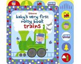 Baby's Very First Noisy Book:Trains 小寶貝的火車有聲書