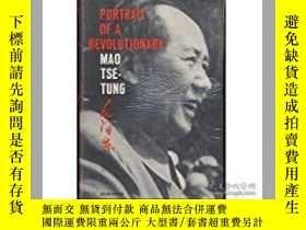 二手書博民逛書店Portrait罕見of revolutionary:Mao t