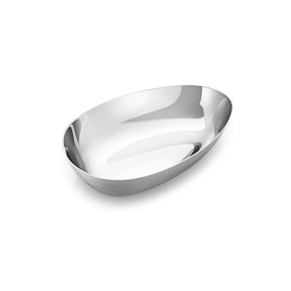 丹麥 Georg Jensen Sky Serving Bowl Small 15x10cm 喬治傑生 天空系列 不鏽鋼 月形盤 / 置物皿 - 小尺寸
