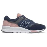 New Balance 997 女鞋 休閒 復古 輕量 麂皮 網布 藍 粉紅【運動世界】CW997HYA