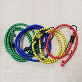 綁帶 尼龍繩 捆綁繩 雙勾 彈力帶 機車繩 彈力繩 露營繩 C 行李捆綁帶 彈性捆綁繩【N218】慢思行