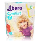麗貝樂 Libero 嬰兒紙尿褲XXXL 7號-21片x8包[衛立兒生活館]