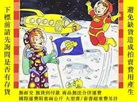 二手書博民逛書店Msb科學讀物:罕見在月球行走 MSB Takes A Moon
