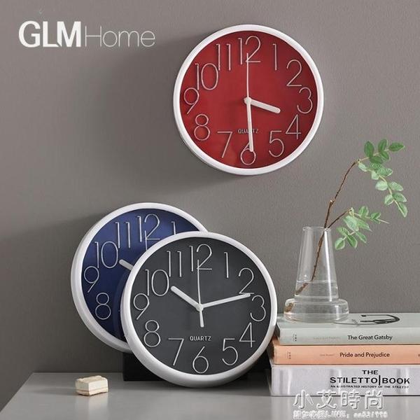 ins北歐輕奢鐘表掛牆個性時尚創意客廳時鐘簡約家用牆面裝飾掛鐘 小艾時尚NMS