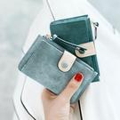 米印鑰匙包女韓國可愛多功能小包撞色小巧迷你簡約零錢包卡包一體 寶貝計畫 618狂歡