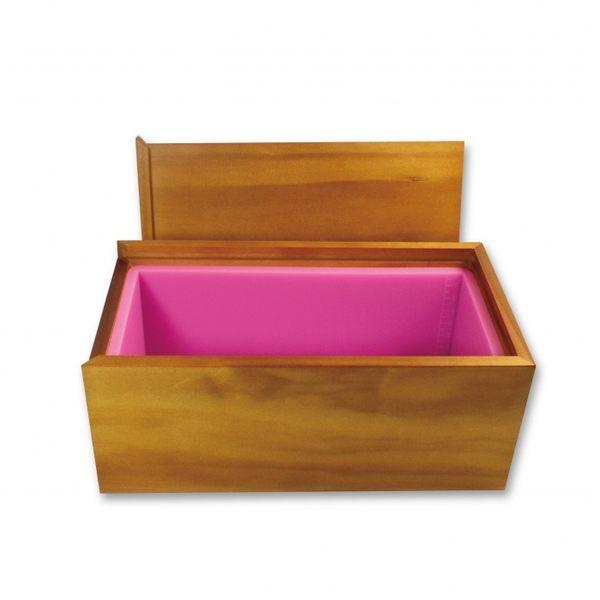 【香草工房】 1500cc粉土司模(短版)-木盒組
