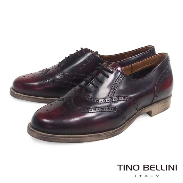 Tino Bellini義大利進口復古英倫牛津鞋(古著紅)_IN0995B ★2016AW 歐洲進口款★