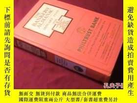 二手書博民逛書店THE罕見BANKERS ALMANAC JANUARY 199