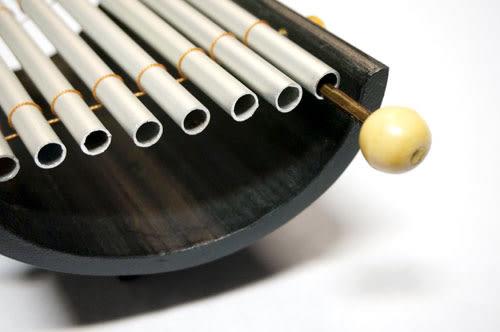 【敦煌樂器】LOOP 五音鋁管半竹琴