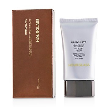 SW HourGlass-77 無瑕礦質粉底液Immaculate Liquid Powder Foundation- # Bare
