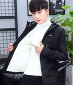 棉衣服男士外套 冬季2019新款加絨加厚衣服 潮流韓版短款夾克 男款個性羽絨棉服 時尚保暖棉服