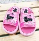 【震撼精品百貨】Hello Kitty 凱蒂貓~台灣製Hello kitty正版兒童拖鞋-可愛大臉黑粉色(13~18號)#18115