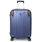 eminent萬國通路-24吋新型TPO材質行李箱新品藍