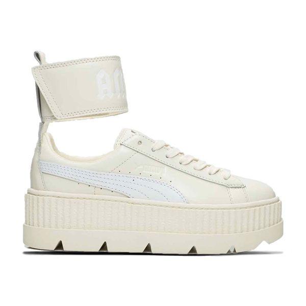 【GT】Puma W Ankle Strap Fenty By Rihanna 奶油白 女鞋 現貨 皮革 魔鬼氈 厚底鞋 蕾哈娜 366264-02
