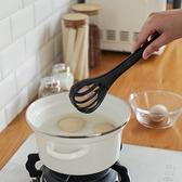 打蛋器多功能打蛋夾家用廚房攪拌打蛋夾菜二合一打蛋器手動撈面條夾抓勺 美物 交換禮物