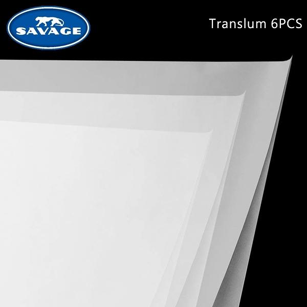 EGE 一番購】Savage【Translum 6PCS套裝組|30.5 x 30.5cm】磨砂柔光片 磨砂玻璃的特殊效