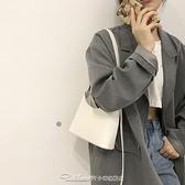 腋下包女包包2021新款潮網紅水桶包小眾設計單肩包百搭ins斜挎包【快速出貨】