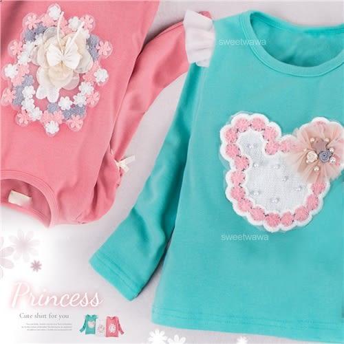 小公主的首選上衣 3色(260376)★水娃娃時尚童裝★