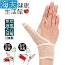 百力肢體裝具(未滅菌)【海夫健康】ALPHAX 遠紅外線拇指護腕固定帶(左右兼用/1入) 日本製