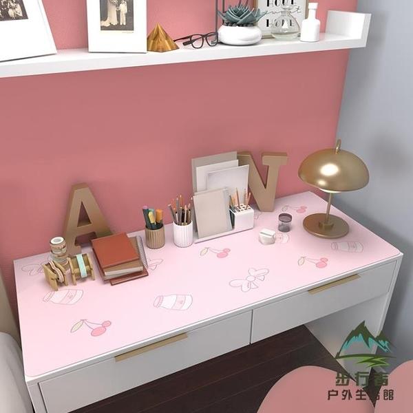 桌布書桌可愛pvc防水防油免洗長方形書桌墊【步行者戶外生活館】