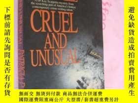 二手書博民逛書店Cruel罕見and Unusual by Patricia C