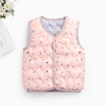 特價寶寶中小童兒童羽絨棉馬甲秋冬輕薄加厚保暖新款背心外套