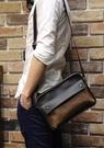FINDSENSE Z1 韓國 時尚 潮 男 複古皮質 單肩包 斜背包 單肩包