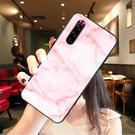 [J9210 軟殼] SONY Xperia 5 J8210 手機殼 保護套 外殼 粉紅大理石