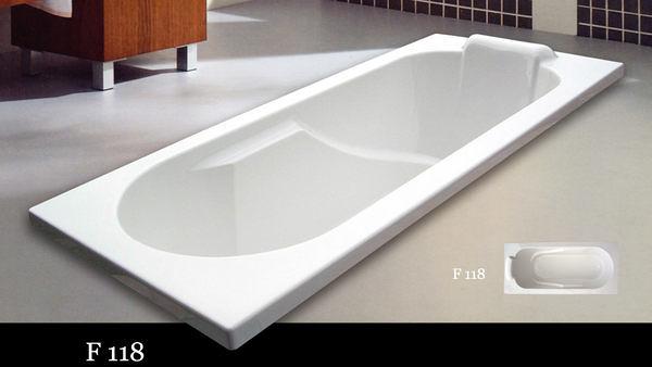 【麗室衛浴】國產按摩浴缸 F118  6噴頭  130*72*48CM