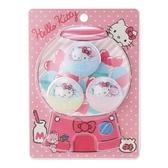 〔小禮堂〕Hello Kitty 扭蛋殼造型塑膠夾子組《3入.粉白》塑膠夾.文具夾.造型夾 4901610-65155
